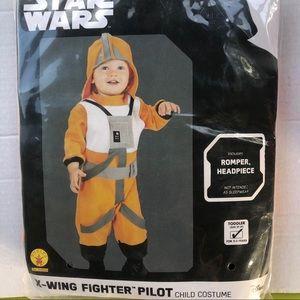 Star wars x wing pilot costume 2t 3t